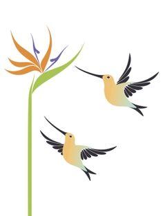Tropical Flower Tattoo Sleeve Bird Of Paradise 37 Ideas Tropical Flower Tattoos, Delicate Flower Tattoo, Tropical Flowers, Colorful Flowers, Bird Of Paradise Tattoo, Birds Of Paradise Flower, Open Heart Tattoo, Angel Tattoo For Women, Heart Tattoos With Names