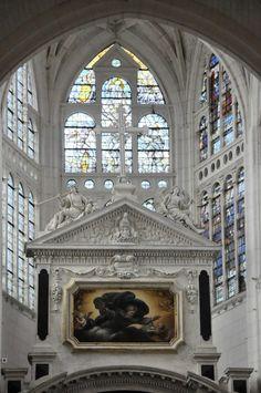 Église Saint-Jean-du-Marché de Troyes. Marne. Champagne