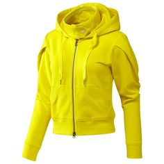Stella McCartney Hoodie for Adidas: Also available in black and cargo green $95. #Stella_McCartney #Adidas #Hoodie