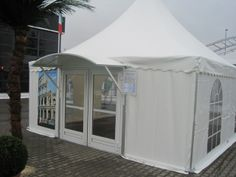 6x6m, french entry door and canopy