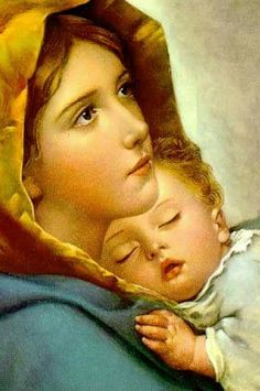 Mother Mary Pictures, Jesus And Mary Pictures, Catholic Pictures, Images Of Mary, Pictures Of Jesus Christ, Mary And Jesus, Mother Images, Jesus Mother, Blessed Mother Mary