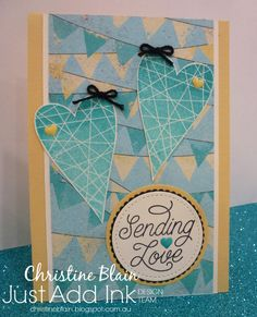 HAPPY HEART CARDS: JAI #348: JUST ADD ... OMBRE