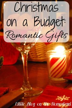 Christmas on a Budget: Romantic Gifts