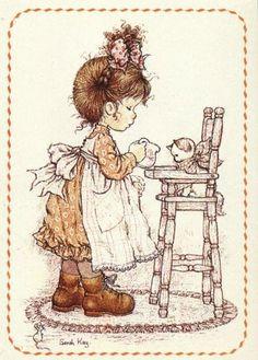 Amo de paixão a Sarah Kay e acredito que meu blog é o site que mais tem imagens dela. \o/ Amo esses desenhos!