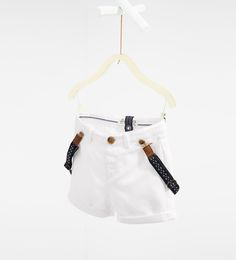 Bermuda shorts with braces-TROUSERS-BABY BOY | 3 months-3 years-KIDS | ZARA United States