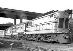 La locomotora de vapor de ´´The Chessie´´