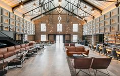 The Warehouse Hotel in Singapore! Absolutely stunning restoration by Asylum , bringing old world charm and modern day industrial together!