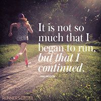 Keep going. You have no idea how far you can go. #fitspiration #suzydoesit #running