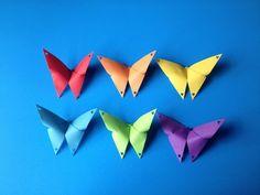Décorer avec des papillons de tous genres...