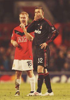 Scholes and Beckham