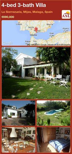 4-bed 3-bath Villa in La Sierrezuela, Mijas, Malaga, Spain ►€690,000 #PropertyForSaleInSpain