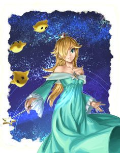 Rosalina and Luma by AthenaWyrm.deviantart.com
