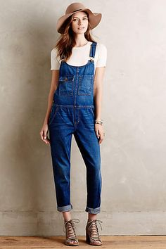 Current/Elliott Carpenter Overalls