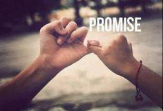Promet le moi.
