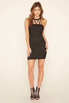 Strappy Bodycon Dress | Forever 21 - 2000221473