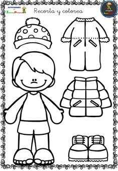 Cut and color your own designs – Backyard & Garden Design Preschool Learning Activities, Preschool Classroom, Preschool Worksheets, Winter Activities, Preschool Activities, Kids Learning, Body Preschool, Winter Crafts For Kids, Winter Fun