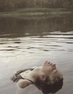 "Tatiana Lyadochkina for ""At the Lake"" in 10 by David Vasiljevic"