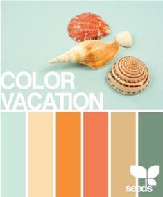 Sunny summer hues repinned from Vivid Fiber Arts #color #palette #vividfiberarts www.vividfiberarts.com
