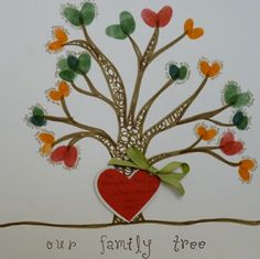 Use finger paints to create a family tree your children or grand children can hang in their room and remember their relatives whenever they look at the craft they created. Create A Family Tree, Family Tree Art, Family Genealogy, Finger Painting, Creative Activities, Family History, Projects To Try, Family Reunions, Scrapbook