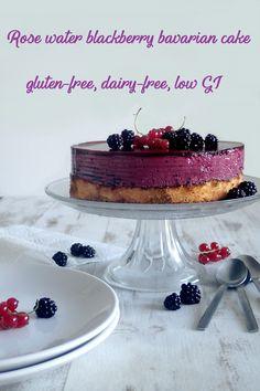 Rose water blackberry bavarian cake - Bavarois à la mûre et à la rose - My Sweet Faery