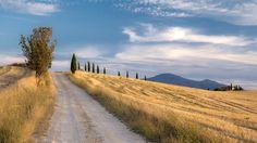 Tuscany small hill