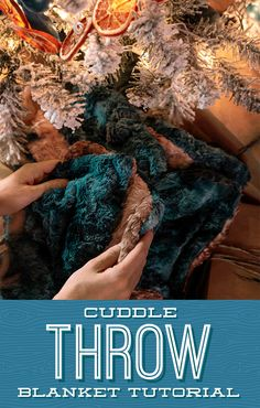 Wrap yourself up in Jenny's latest tutorial for an easy Cuddle Throw! This super-soft and cozy project is the perfect addition to a cold winter night. Follow the link below to watch the free project tutorial now! #MissouriStarQuiltCo #CuddleThrow #EasySewingProjects