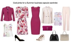 Wear pink with authority and style at work