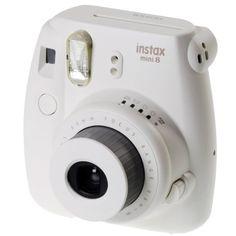 Fujifilm 16443852 Instax Mini 8 Sofortbildkamera (62 x 46 mm) weiß