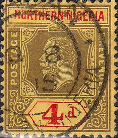 Nigeria 1935 King George V Silver Jubilee SG 30 Fine Mint Scott 34 Other Nigerian Stamps HERE