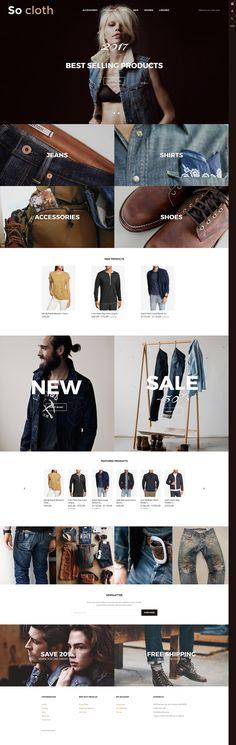 So Cloth  Responsive Shopify  Theme
