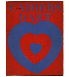 [Duchamp] Christian Zervos [Editor]: CAHIERS D'ART. Paris: Cahiers d'Art, 1936, vol. XI, nos. 1-2.