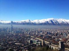 San Cristobal Santiago, Chile