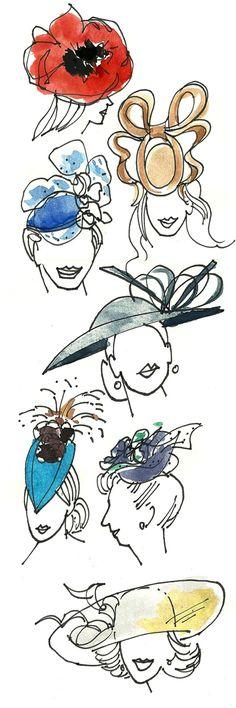 yay hats of the royal wedding!