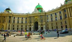 The Hofburg-Vienna, Austria: Used to be the seat of Hapsburg emperors, Now a sprawling complex, housing the official seat of the Austrian president. 18 wings, 19 courtyards, and 2,600 rooms-Imperial Apartments, the Treasury, time it right, and you might catch performances by the Lipizzaner horses and the Vienna Boys' Choir.