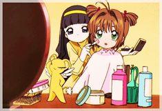 Imagen de kero, anime, and sakura card captor make up Cardcaptor Sakura, Sakura Card Captor, Syaoran, Manga Anime, Anime Gifs, Old Anime, Magical Girl, Fantasy Anime, Clear Card