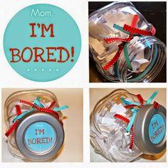 Mom, I'm bored - Tarro del aburrimiento