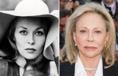 Faye Dunaway (1970 and 2016) - Silver Screen Collection/Getty Images; Samir…