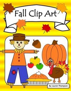 Fall Clip Art & Borders