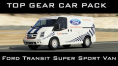Forza 5 - Ford Transit Super Sport Van - Top Gear Car Pack Gameplay #xbox #one #forza #motorsport #top #gear #ford #van Vans Top, Ford Transit, Top Gear, Super Sport, Xbox One, Gears, Packing, Sports, Tops