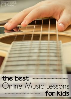Online music lessons for kids that fit into any schedule!