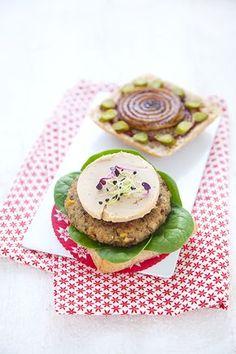100% Végétal: Christmas burger