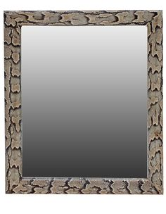 Glamorous Python Leather Wall Mirror, sharing luxury designer home decor inspirations and ideas for beautiful living rooms, dinning rooms, bedrooms & bathrooms inc furniture, chandeliers, table lamps, mirrors, art, vases, trays, pillows, accessories & gift courtesy of InStyle Decor Beverly Hills enjoy & happy pinning