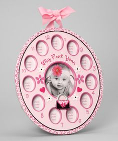 Take a look at this Pink Diva 12-Month Frame by Baby Essentials on #zulily today!http://www.zulily.com/invite/afreitas250