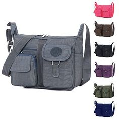 New Trending Cross Body Bags: KARRESLY Casual Unisex Waterproof Nylon Comfy Travel Large Capacity Handbag Crossbody Messenger Shoulder Bag (Gray). KARRESLY Casual Unisex Waterproof Nylon Comfy Travel Large Capacity Handbag Crossbody Messenger Shoulder Bag (Gray)  Special Offer: $17.99  111 Reviews KARRESLY has been making travel easier and safer with products that provide protection, peace-of-mind, safety, security and...