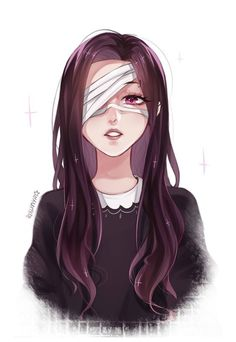 Anime art with eyes tied- Аниме арт , с связанными глазами Anime art with eyes tied - Film Manga, Manga Anime, Girls Characters, Female Characters, Manga Girl, Anime Art Girl, Anime Girls, Character Inspiration, Character Art