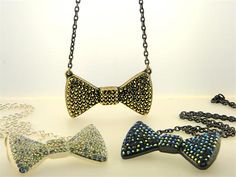 Bow-tie jewelry! @chippendales #chippendales