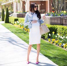 Fashion white dress style