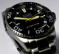 Scurfa Diver One Stainless Steel Watch
