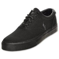 check out b725b 1cbe0 Polo Ralph Lauren black casual shoes Black Casual Shoes, Earth Shoes,  Sneaker Brands,