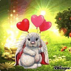 de - Your free picture community - bewegliche Bilder - Cute Good Night, Good Night Gif, Love You Gif, Miss You Cards, Gifs, Rabbit Art, Bunny Art, Tatty Teddy, Gif Animé